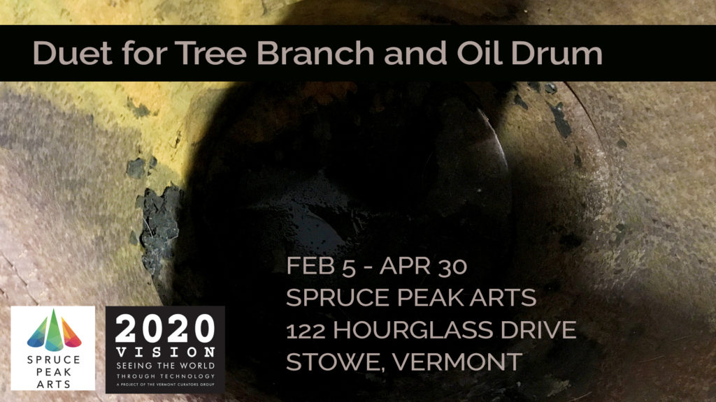 Duet for Tree Branch and Oil Can